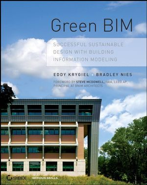 BIM BOOKS - Book Cover Image for Green BIM: Successful Sustainable Design with Building Information Modeling