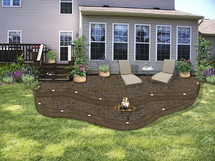 Garden Ideas On Two Levels 18 best patio ideas images on pinterest | backyard ideas, patio