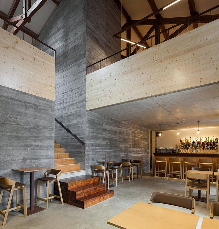 Hightail bar technē architecture and interior design bar architecture and interiors