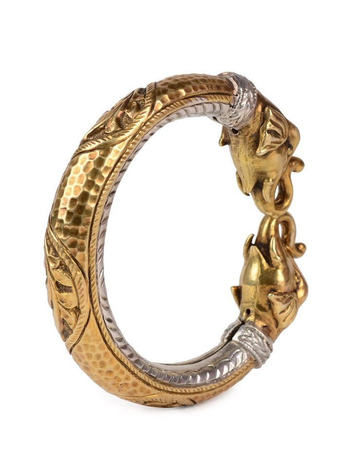 Buy Golden Silver Tribal Bangle (Adjustable) 92.5% Sterling Jewelry Sparkling Notes A Curated Bazaar of Stunning Online at Jaypore.com