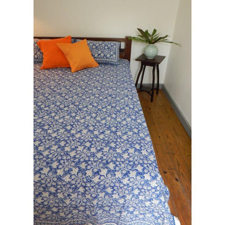 King Size Cotton Sheet And Pillow Case