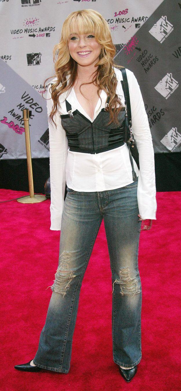 (Lindsay Lohan/Pinterest)