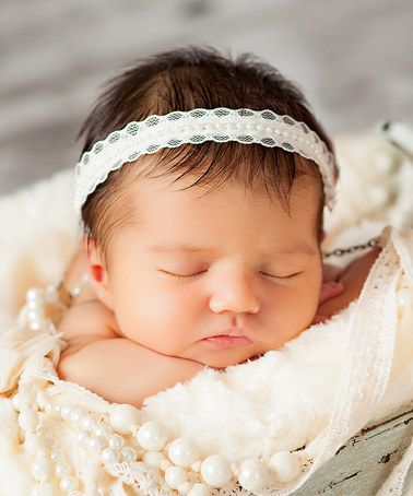 Ivory Pearl Headband #zulily #ad *adorable textures in the photo