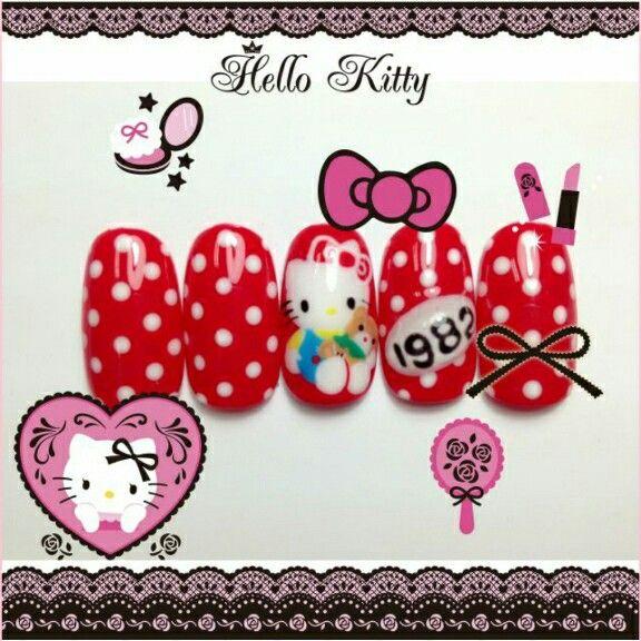 キティちゃん好きにはたまらないキティちゃん柄のネイルで、かわいくおしゃれしよう♡  みんなのネイルもKawaii★Camで自慢してね!   All you Hello Kitty fans, check out these perfect nails!  Take pictures of your nails and upload them on Kawaii★Cam ♡   Photo taken by dabaoDIDI on Kawaii★Cam    Join Kawaii★Cam now :)   For iOS:   https://itunes.apple.com/jp/app/kawaii-xie-zhen-jia-gonghakawaiikamu*./id529446620?mt=8    For Android :   https://play.google.com/store/apps/details?id=jp.co.aitia.whatifcamera    Follow me on Twitter :)…