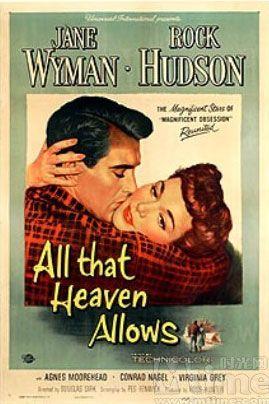 All That Heaven Allows (1955) USA Universal D: Douglas Sirk. Jane Wyman, Rock Hudson, Agnes Moorehead 17/06/02
