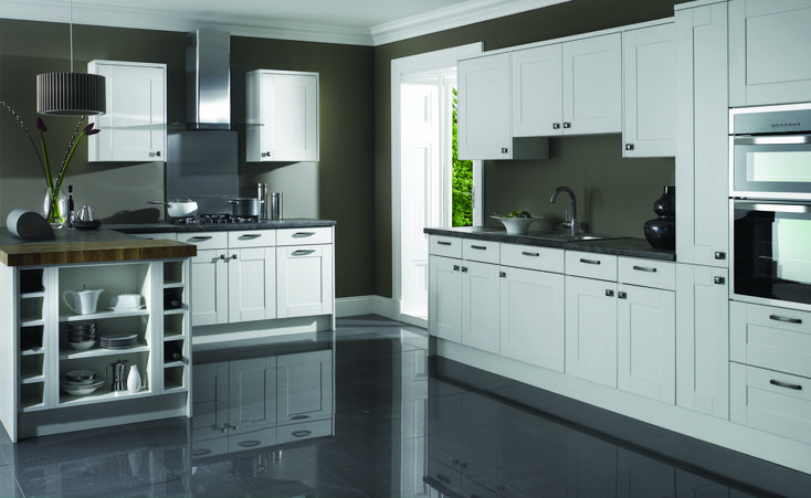Thatcham Kitchens- Mereway Kitchens- Town & Country- Canterbury- White