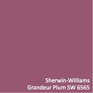 Sherwin williams grandeur plum sw 6565 wall color using for Sherwin williams virtual painter