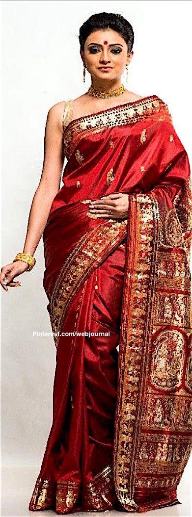 Baluchari handloom silk from reshamshilpi.gov.in