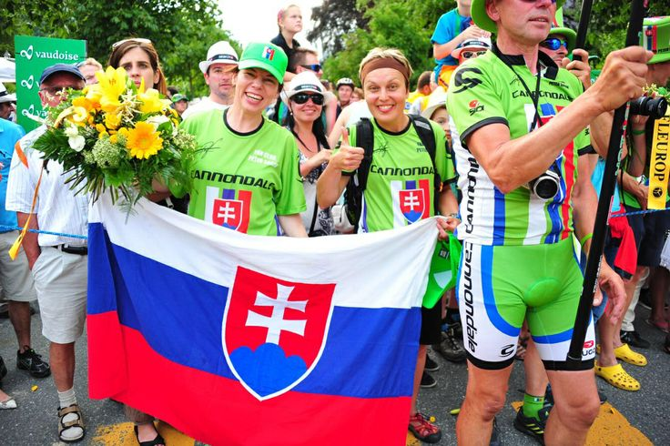 Fans from Slovakia
