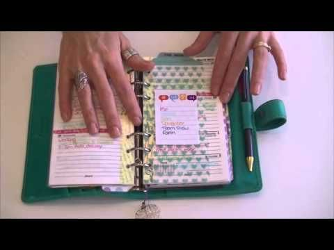 How I use my planner - YouTube - Love her planner!!