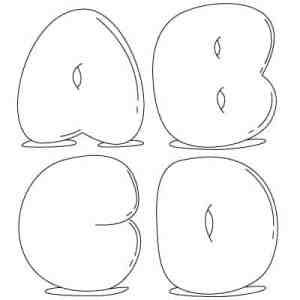 How to Draw Bubble Letters – Images