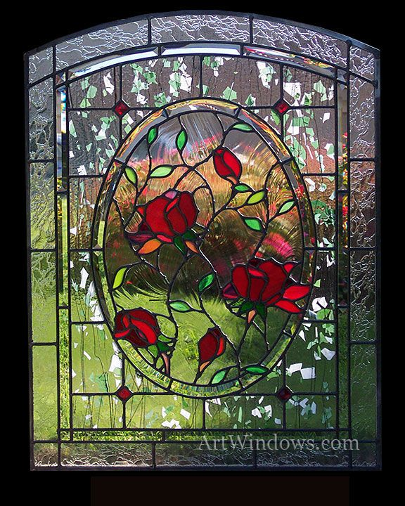 Rosas #vitral