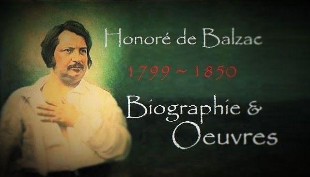 Honoré de #Balzac : Écrivain français, né le 29 Mai 1799 à Tours,  mort à Paris le 18 août 1850. Sa famille paternelle est originaire du Tarn, et son véritable nom était Balssa. Ce nom avait été porté par ses ancêtres, de rudes paysans du village de la Nougayré ; Anne-Charlotte, sa mère, née Sallambier, appartient à une famille de la bourgeoisie parisienne. La mère de Balzac a trente-deux de moins que son mari. Le père Bernard François Balzac, tout jeune, était venu à pied de sa province…