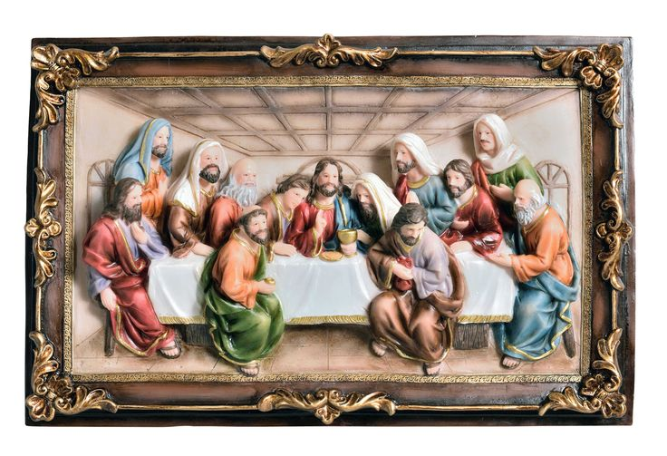 last supper hanging wall decor products pinterest. Black Bedroom Furniture Sets. Home Design Ideas