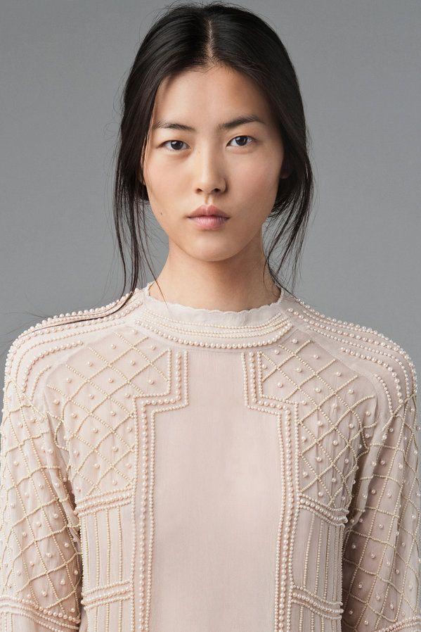 Liu Wen Plays it Cool for Zaras August 2012 Lookbook