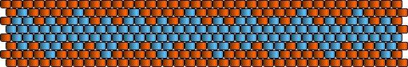 Ring-einfacheRauten2 – Peyote Technik Muster