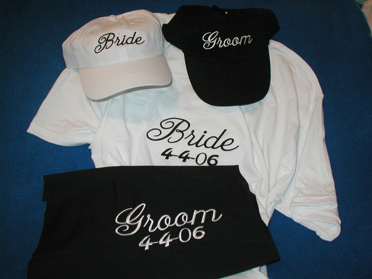 Bride and Groom Shirt Set • Wedding Shirts • Newly Wed Gift • Bridal Party T-Shirts • Bridal Gifts • Mustache Groom • Wedding Day Tees oHonM7PY