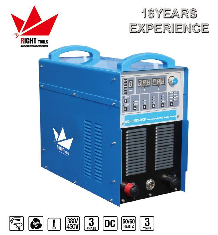 Industrial using digital control 500amp soldadora mig