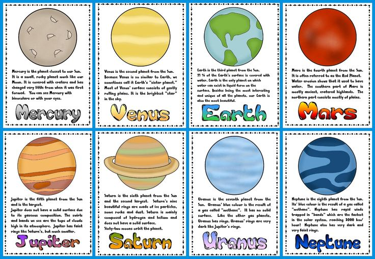 teaching 4th grade solar system - photo #43
