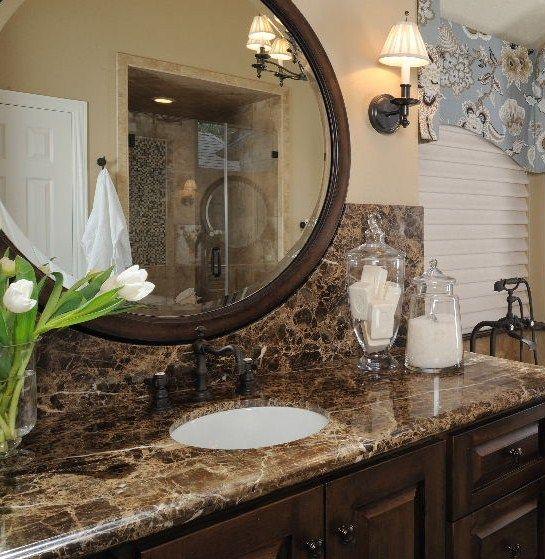 Dark Tile Master Bathroom: 9 Best Dark Emperador Marble Images On Pinterest