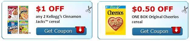 Cereal Coupons – Printable Cereal Coupons, Grocery Coupons #beauty #coupons http://coupons.remmont.com/cereal-coupons-printable-cereal-coupons-grocery-coupons-beauty-coupons/  #cereal coupons # Cereal Coupons Clipping cereal coupons is a great way to save money, but not everyone can find the time for it. For those of you that want to conveniently print coupons online, simply visit our Cereal.com Coupon Center . If you're ready to invest a little time in coupon savings, you can get started…