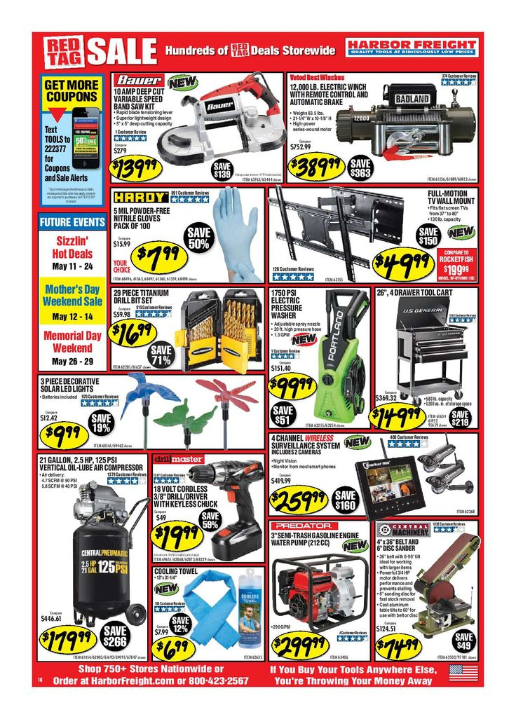 The 25 best harbor freight tools ideas on pinterest fly tying harbor freight tools ad december 2017 do you know whats in and whats hot in the harbor freight tools for this week this harbor freight tools weekly ad greentooth Images