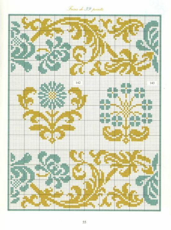 Gallery.ru / Фото #3 - Bordures et Frises Fleuries - Mongia