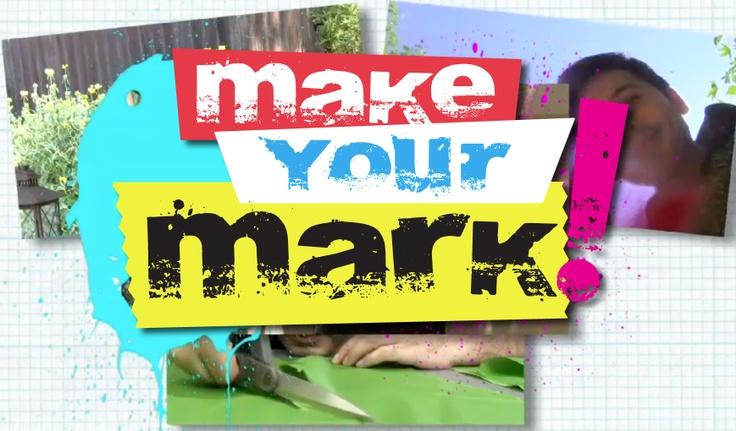 Logo for my Youtube show:  Make Your Mark!  http://www.youtube.com/user/MakeYourMarkMontano