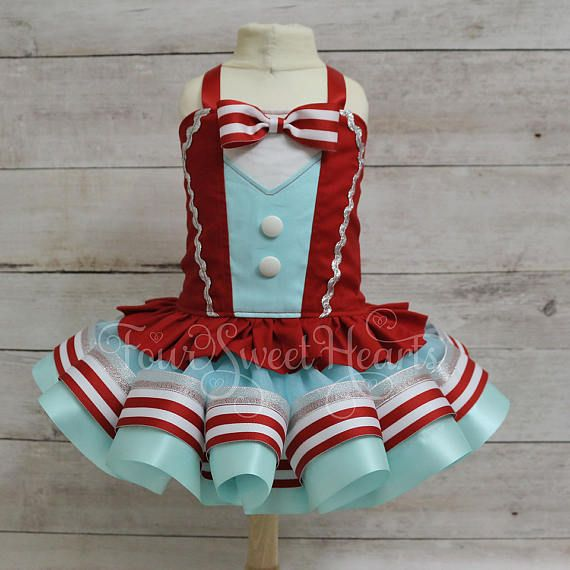 Circus Birthday Outfit, Carnival Outfit Girl, First Birthday Outfit Girl, Circus Dress, Ringmaster Outfit Girl, Circus Birthday Girl