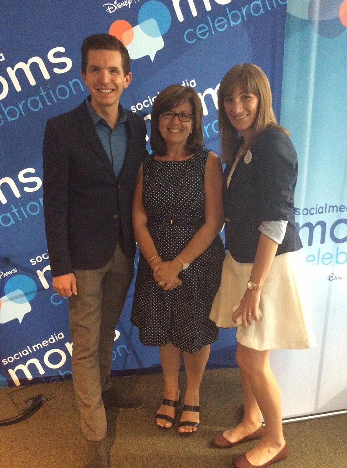 With Tyler Slater (Communications Representative, Walt Disney Company) and Erin Glover (Social Media Director, Disneyland Resort) and both my favourite regular and dynamic contributors to the Disney Parks Blog.