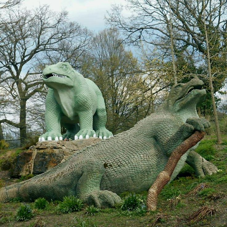 Long before dinosaurs were your Natural History Museum's biggest attraction, a collection of charmingly inaccurate sculptures in a South London park were once considered the absolute authority on the pre-historic reptiles. As the study of dinosaurs progressed and the mistakes became more obvious, th