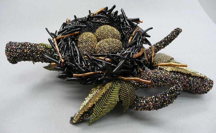 Absolutely Beads 2007 Sandra Jaech Nest Issaquah, WA JUROR'S CHOICE AWARD
