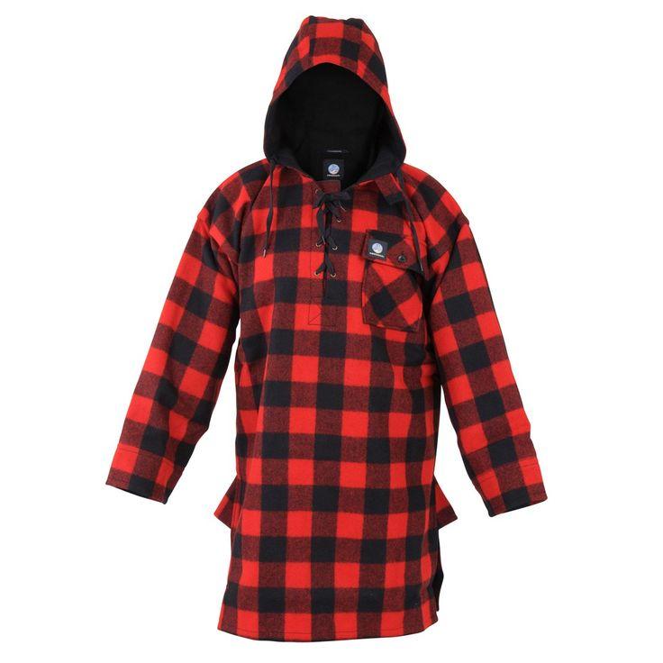 Ecowool Swanndri Original Hooded Bushshirt