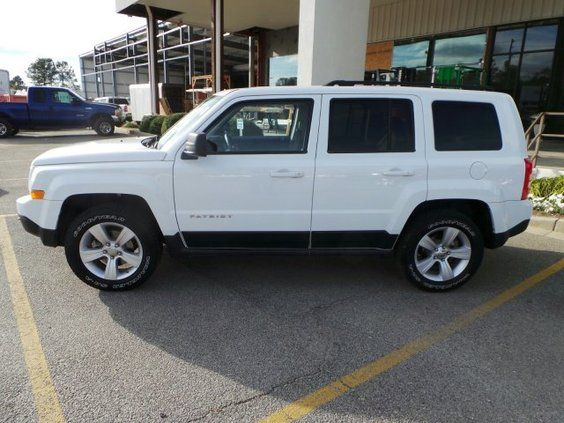 2011 Jeep Patriot Sport 4x4  http://griffinford.net/Tifton-GA/For-Sale/Used/Jeep/Patriot/2011-Sport-White-SUV/37421641/             Only $ 13,750