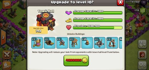 Clash of Clans Town Hall Level 10 http://clashcrunch.com/