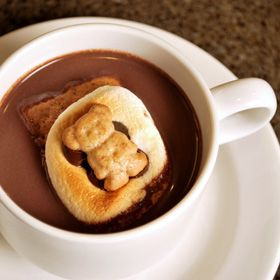 S'more Hot Chocolate. Great as a special treat for kids.