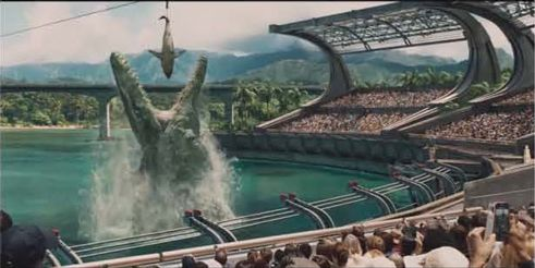 """Taking a look at some of the prehistoric animals likely to feature in """"Jurassic World"""". First up Mosasaurus."""