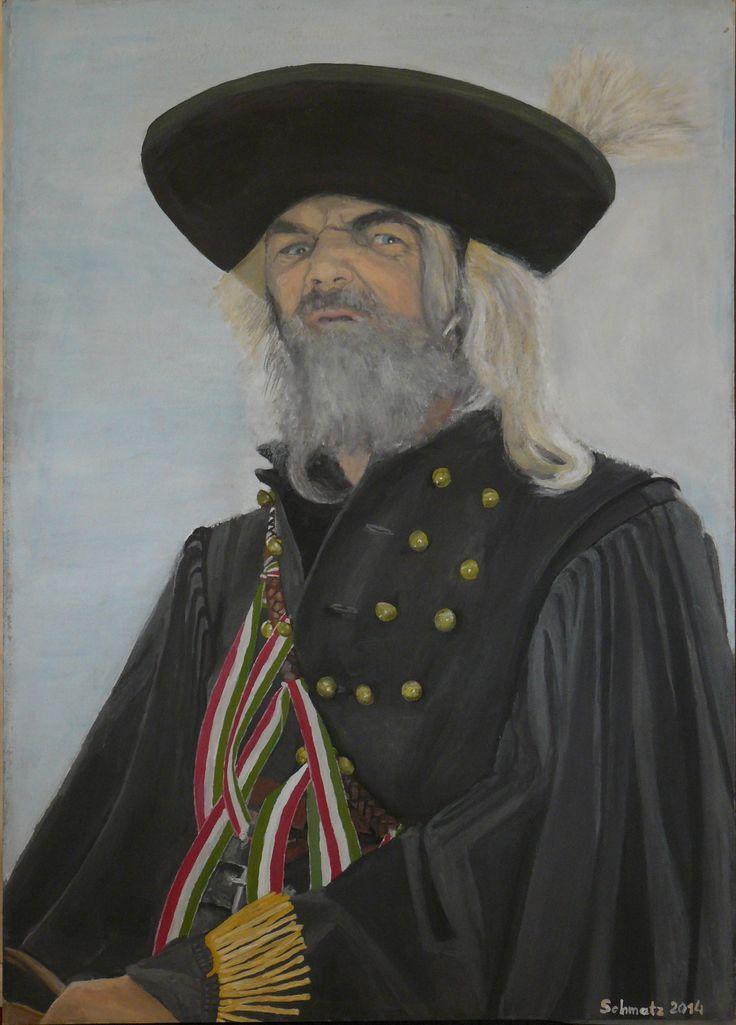 Fóti Betyár - portré