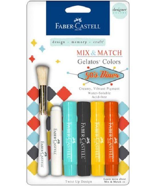 Faber Castell Gelatos - Pigment Sticks - 50' Diner 4 st. €13,49