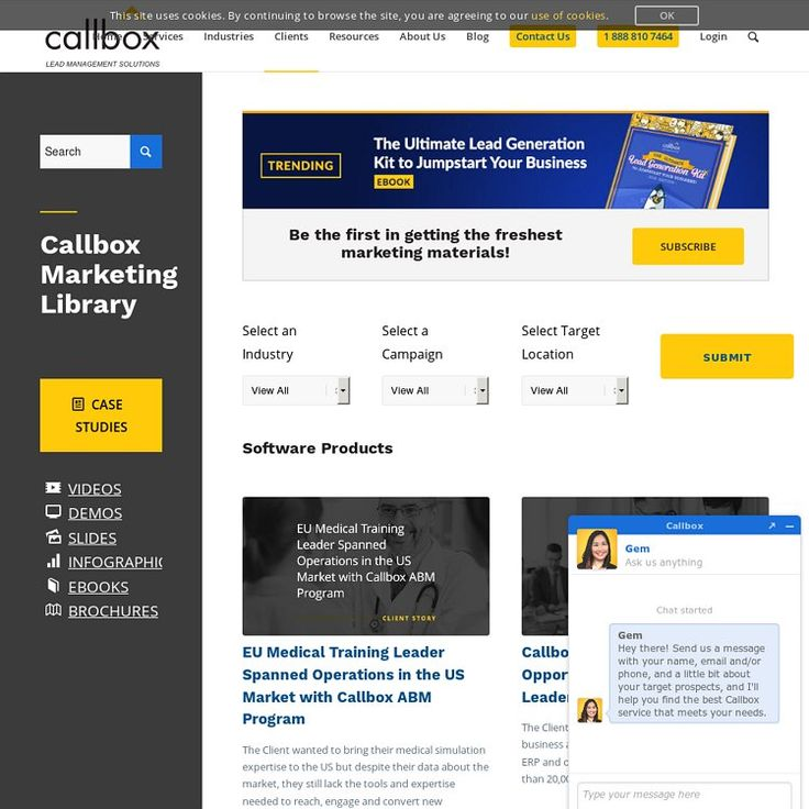 Callbox Clients Successful Campaigns Lead generation