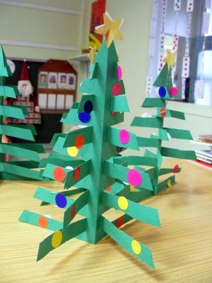 3D tree craft idea
