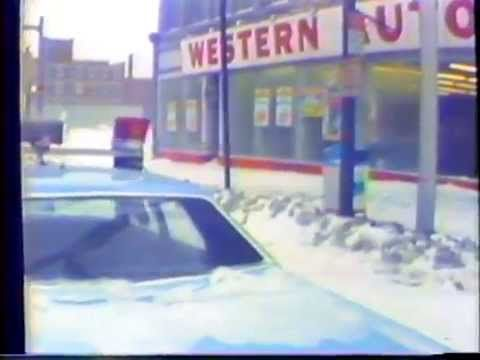 Segment of WISH-TV (Indianapolis, channel 8) news program | Josh Littman reports on the blizzard of 1978.