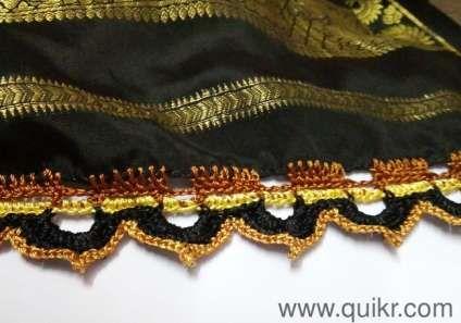 Crochet kuchchu (tassels) for sarees - Bangalore