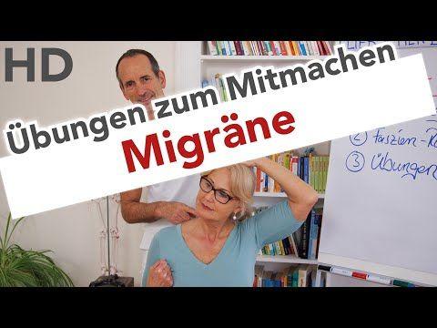 Migrane Ubungen zum Mitmachen // Migräne Kopfschmerzen Faszien Training