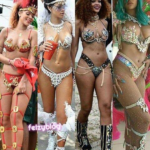 Rihanna's photos at crop over