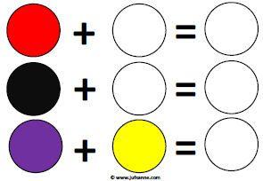 kleurensommen 2 juf Sanne