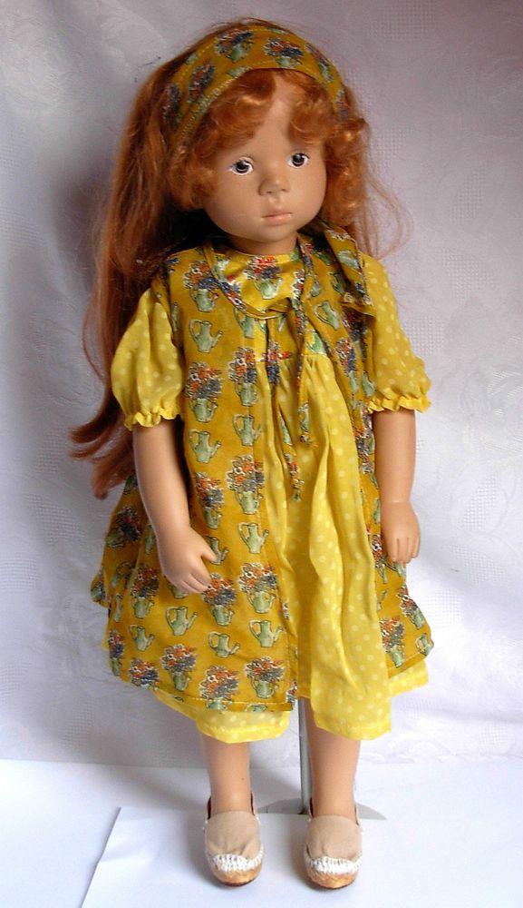 Götz Puppe von Sylvia Natterer 89   rothaariges Mädchen  49cm gross  | eBay