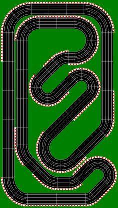slot car track design - Google Search