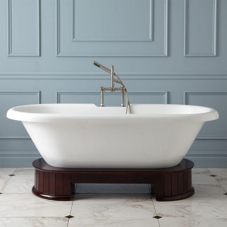 The 25 best acrylic tub ideas on pinterest shower tub for Best acrylic bathtubs