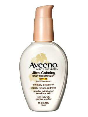 I use this every day under my make up. It's wonderful! AVEENO® ULTRA-CALMING Daily Moisturizer with SPF 15